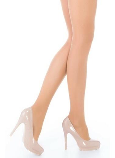 Penti Kadın Sıluet Korselı  Külotlu Çorap 5001769687x Ten